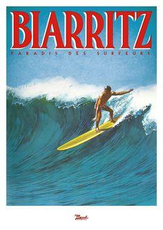 © Marcel Biarritz  PARADIS DES SURFEURS  www.marcel-biarritz.com