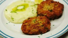 """This is """"Mleté řízky s Nivou"""" by Toprecepty on Vimeo, the home for high quality videos and the people who love them. Baked Potato, Mashed Potatoes, Cooking Recipes, Baking, Ethnic Recipes, Whipped Potatoes, Smash Potatoes, Chef Recipes, Bakken"""