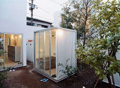 MORIYAMA HOUSE Architect: Ryue Nishizawa Location: Tokyo Year built: 2005