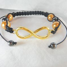 Infinity Charm Style Gold from Anns Bands for $14.99