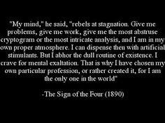 Sherlock Holmes Quote