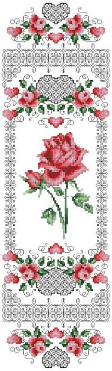 Gallery.ru / Фото #11 - Blackwork_Roses - CrossStich