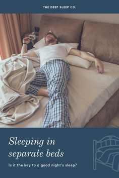 Many people report not sleeping well when they share their bed. How does bed sharing effect your sleep and is sleeping in separate bedrooms the answer?    #sleep #bed #couples Causes Of Divorce, Sleep Medicine, Work Relationships, Sleep Quotes, Sleeping Alone, Shift Work, Natural Sleep Remedies, Trouble Sleeping, Marriage Life