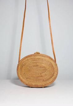 Handmade Rattan Basket Bags from Bali on Etsy