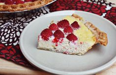 Best Ricotta and Raspberry Pie