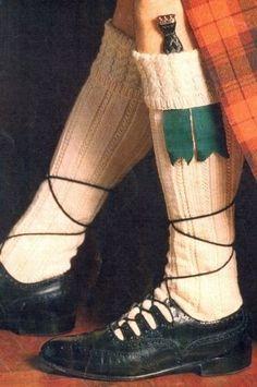 Men/'s Scottish Sock