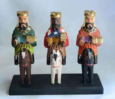 Three Kings  on Horseback - Puerto Rican Style!