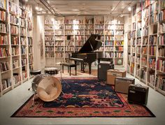 Upper West Side recording studio : SonicScoop – Creative, Technical Business Connections For NYC's Music Sound Community Home Studio Musik, Music Studio Room, Sound Studio, Upper West Side, Home Music Rooms, Music Bedroom, Men Bedroom, Recording Studio Design, Audio Room