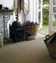 Sisal and Seagrass Carpet Cleaning in Cheltenham 01242 329 805 Seagrass Carpet, Sisal Carpet, Painted Floorboards, Painted Concrete Floors, Carpet Flooring, Rugs On Carpet, Linoleum Flooring, Brick Flooring, Ceramic Flooring
