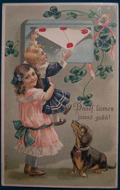 https://flic.kr/p/yUQoH | Vintage Valentine's Day Postcard