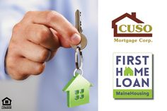 This week's featured Green Key Lender is CUSO Mortgage Corp. Ask CUSO or your nearest lender about our First Home Loan and $3,500 towards closing costs! mainehousing.org/mainehousing-lenders #Askalender #FirstHomeLoan #firsthome #Maine #MaineHousing #firsttimehomebuyer
