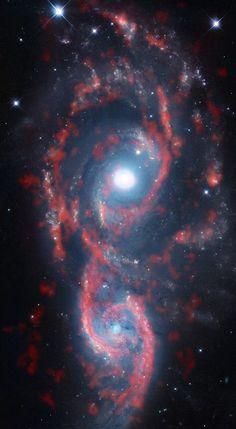Interacting galaxies NGC 2207 and IC 2163