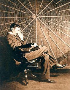 Nicholas Tesla , inventor