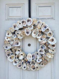 Summer Colors, Coastal Living, Beach House, Christmas Wreaths, Floral Wreath, Holiday Decor, Home Decor, Beach Homes, Floral Crown