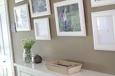 interior paint color+frames