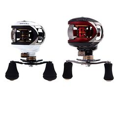 Special Offers - Andoer LMA200 101BB Ball Bearings Bait Casting Fishing Reel High Speed 6.3:1 White (White Right) - In stock & Free Shipping. You can save more money! Check It (July 29 2016 at 09:20PM) >> http://fishingrodsusa.net/andoer-lma200-101bb-ball-bearings-bait-casting-fishing-reel-high-speed-6-31-white-white-right/