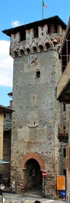 Lanzo Torinese - Piedmont - Italy - The Tower