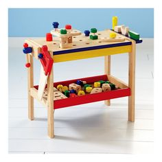 Just got this for the little guy! It's time he stops hammering the tv, dog, windows, me, etc. and uses his workbench.