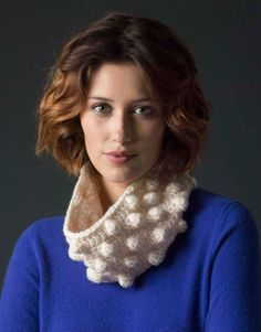 Level 3 Crocheted Cowl - Free Crochet Pattern With Website Registration - (lionbrand)