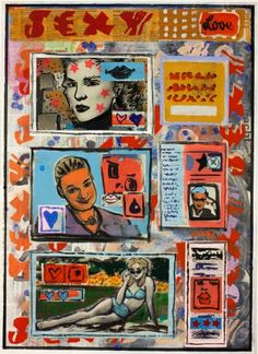 "Saatchi Art Artist Ahmed Borai; Painting, ""Warehouse world wide.lovemarket.go"" #art"