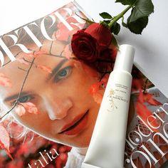 Fresh flowers, Kukui Oil Hand Cream & a new issue of PORTER magazine