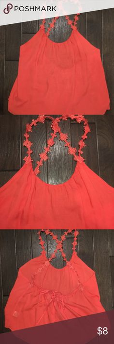 Open Back Top Open Back top with criss cross straps Tops Blouses
