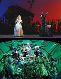 Scenic Designs from Wicked (by Eugene Lee)