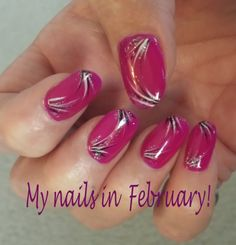 My nails in February!