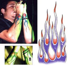 Linkin Park - Flame Tattoo