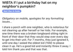 A birthday for a year-old pumpkin. Honestly it just sounds appropriate. #funny #pumpkin #judgement #lol