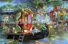 Wanderers Cove [ASTEWART1566] - $16.15 : Heaven And Earth Designs, cross stitch, cross stitch patterns, counted cross stitch, christmas stoc...