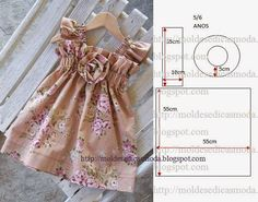 Trendy sewing ideas for girls to make fun Ideas Doll Clothes Patterns, Sewing Clothes, Clothing Patterns, Dress Patterns, Dress Sewing, Sewing For Kids, Baby Sewing, Sewing Ideas, Sewing Tips