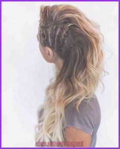 lagertha, viking coiffure, katheryn winnick inspiration, blond hair, braids on the perimeters Hair Images, Hair Pictures, Side Braid Hairstyles, Cool Hairstyles, Viking Hairstyles, Pinterest Hairstyles, Mohawk Braid, Hairstyles Pictures, Hairdos