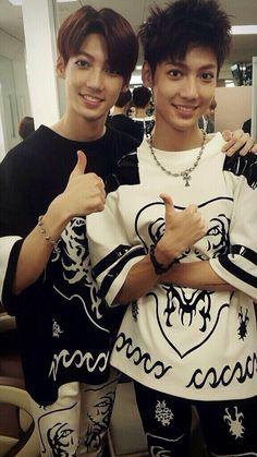 "Youngmin  Kwangmin from BOYFRIEND. They grew so well. <span class=""EmojiInput mj40"" title=""Heavy Black Heart""></span>️"