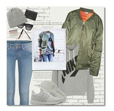 """""""Urban Layers"""" by hollowpoint-smile ❤ liked on Polyvore featuring Vetements, Kerr®, H&M, NIKE, Yves Saint Laurent, Monki, CÉLINE, Clinique and Braun"""