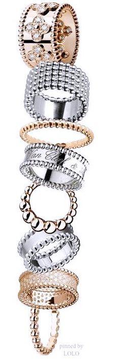 I Love Jewelry, Jewelry Rings, Jewelry Box, Jewelry Accessories, Fine Jewelry, Jewelry Design, Geek Jewelry, Bling Bling, Van Cleef And Arpels Jewelry
