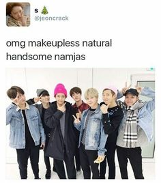 THEY'RE ALL SO MUCH BETTER WITHOUT MAKEUP HOLY SHIT MAKE THIS A FREQUENT THING