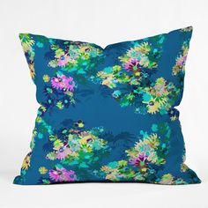 Bel Lefosse Design Jardim Throw Pillow | DENY Designs Home Accessories