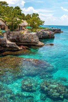 Island Living is Good at the Best Hotels in Jamaica, TRAVEL, Island Living is Good at These Jamaica Hotels - This tropical, soulful island has earned its place as one of the Caribbean's most popular getaways t. Vacation Places, Vacation Destinations, Dream Vacations, Places To Travel, Places To Visit, Dream Vacation Spots, Vacation Rentals, Time Travel, Best Hotels In Jamaica