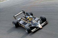 Ronnie Lotus 79 @ Monza 1978 drifting thru Parabolica