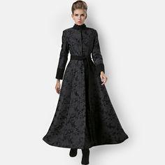 49ef4259e55 2014 fashion oversized women woolen overcoat women s long wool winter coats  for woman cashmere trench coat female manteau Black