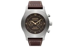 """Panerai is once again reviving the Mare Nostrum, this time in the form of a  titanium cased special edition with a design reminiscent of the original  prototype developed in 1943. So named for the Royal Italian Navy's WWII  victories in the Mediterranean Sea, Mare Nostrum translates to """"Our  Sea.""""The naming dates back to 1924, used on what was likely the first  Panerai chronograph, but any hint of these watches has long since  disappeared. This left Paneraiwith the 1943 prototypes from ..."""