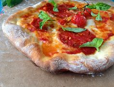 Rustic Pizza Dough Recipe | CiaoFlorentina.com @CiaoFlorentina