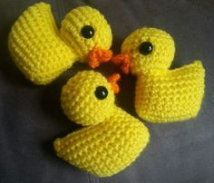 Free Pattern: Other Brother Darryl – a duck | Hookers Don't Bite