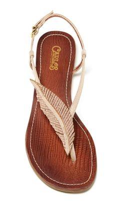 Feather Sandals ♥ L.O.V.E.