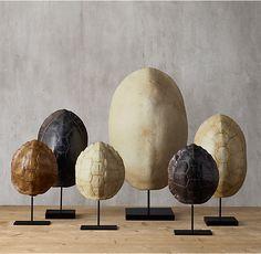 "Aquatic Turtle Shell Honey Brown - Small, 9""w x 3""d x 9""h, $55 member, $69 on sale ($145 reg)"
