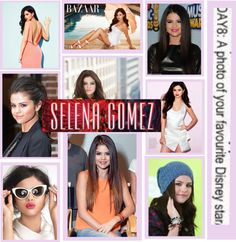"""selena gomez♥"" by rhiannonxox on Polyvore"