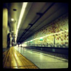 いつものアンダー打ちで。。#train #station #駅 #subway #地下鉄 #tokyometro #東京メトロ - @tukanana- #webstagram