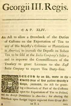 Expand your mind and visit our research library! Learn about The Tea Act and other historical events and happenings. #BostonTeaPartyShips