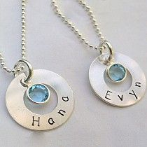 "Simple & Sweet ""mommy"" Jewelry @ ModMomMaternity.com"